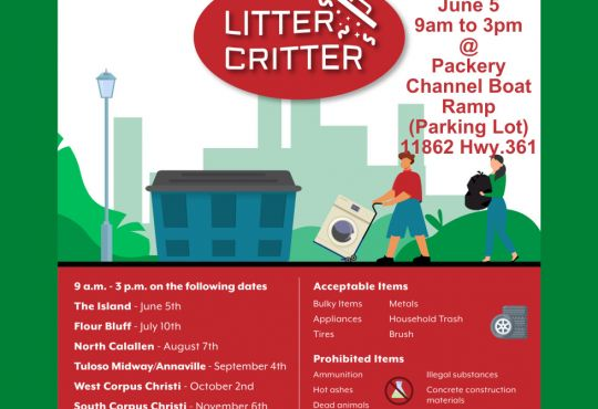 Island Litter Critter - Community Cleanup